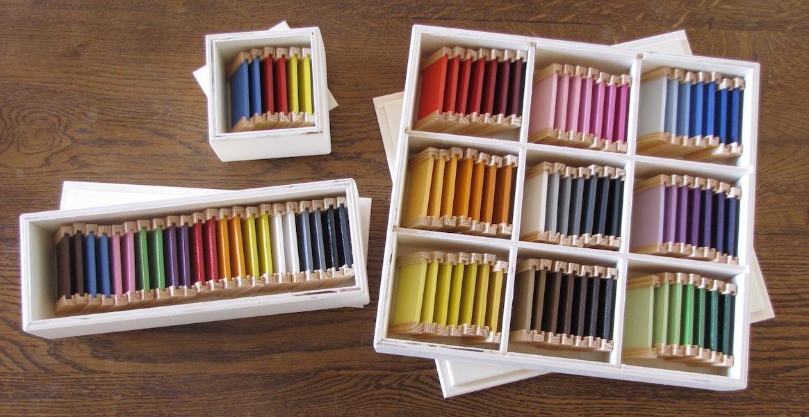 Les bo tes des couleurs le coin montessori - Comment cuisiner les marrons en boite ...