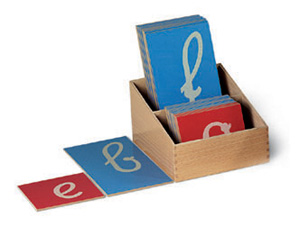 Les Lettres Rugueuses Le Coin Montessori