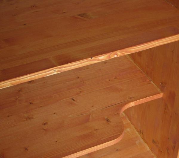 Meuble de rangement le coin montessori for Lasure bois interieur couleur