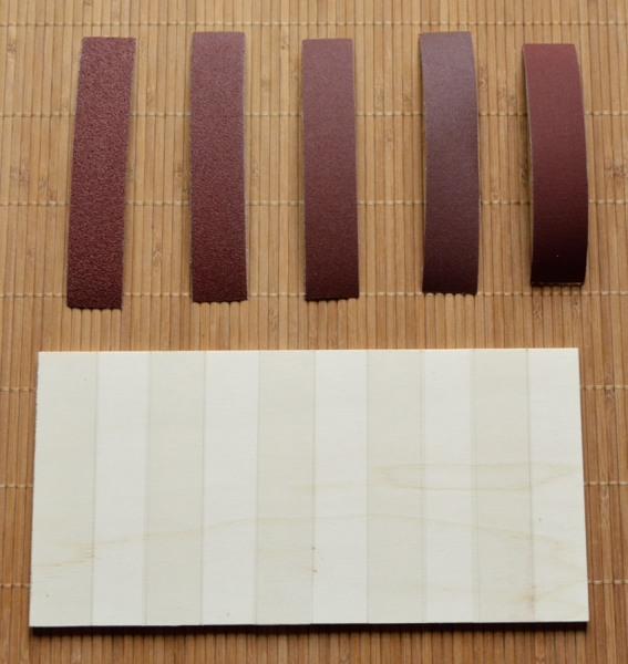 Fabrication planche lisse et rugueuse